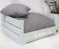 AZULGRISOSCURO  camas para perros